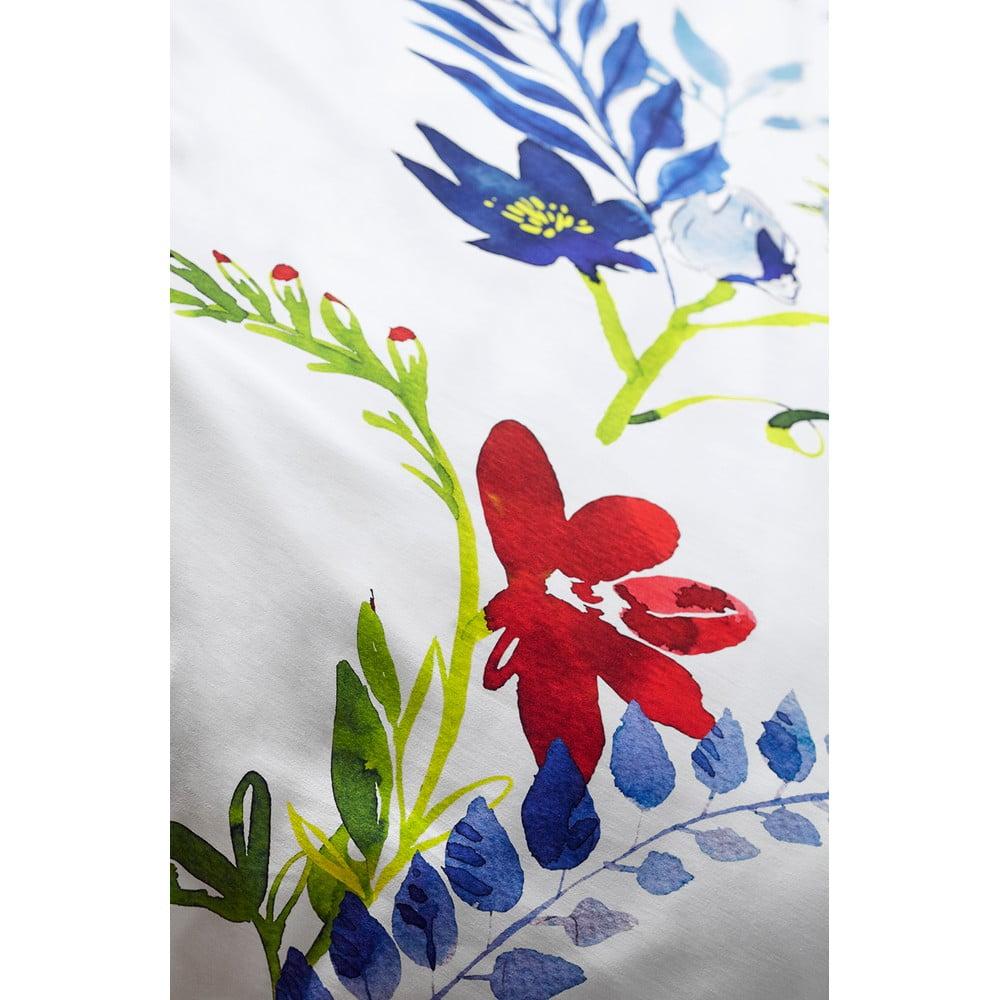 lenjerie de pat whitepocket vis cu flori 220x200 cm 70x80 cm bonami. Black Bedroom Furniture Sets. Home Design Ideas