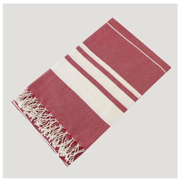 Hammam osuška Bath Style Red, 100x180 cm