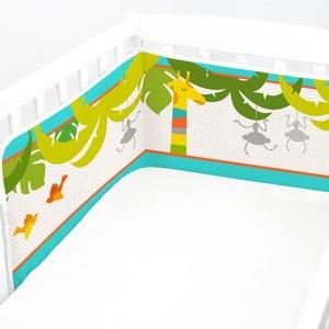 Nastavitelná výstelka do postýlky Baleno Zoo, 210x40cm