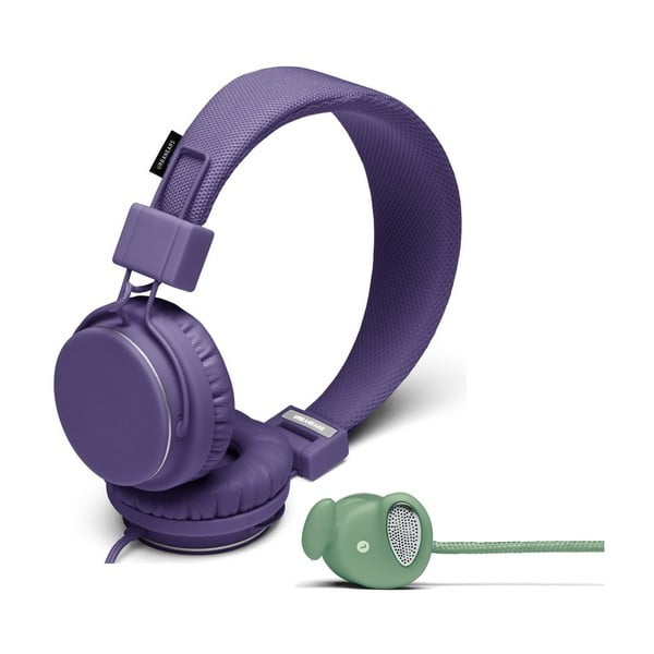 Sluchátka Plattan Lilac + sluchátka Medis Sage ZDARMA
