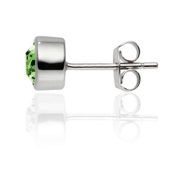 Sada náušnic a náhrdelníku Bezel Peridot