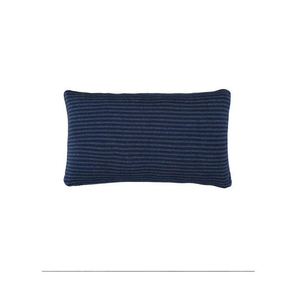 Polštář Marc O'Polo Arvid, 30x50 cm, tmavě modrý