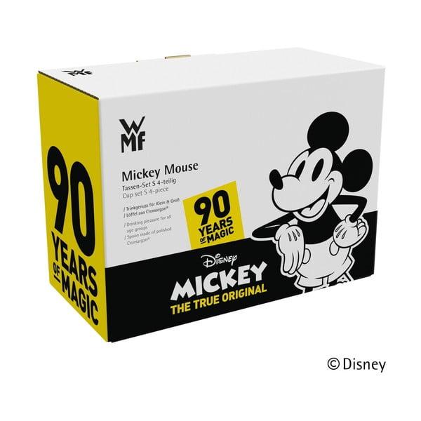Set masă din 4 piese pentru copii WMF Cromargan® Mickey Mouse