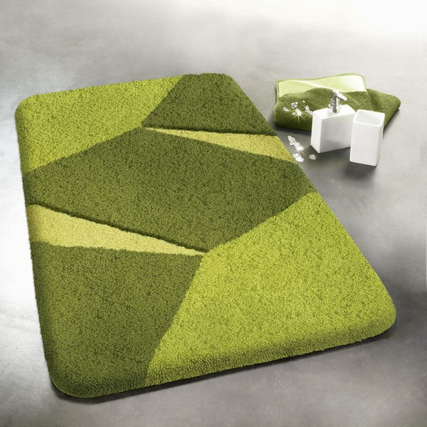 Předložka Crystal, 60x90 cm, zelená