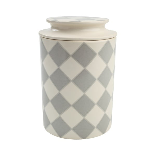 City Lora szürke kerámia edény, 10,5 x 16 cm - T&G Woodware