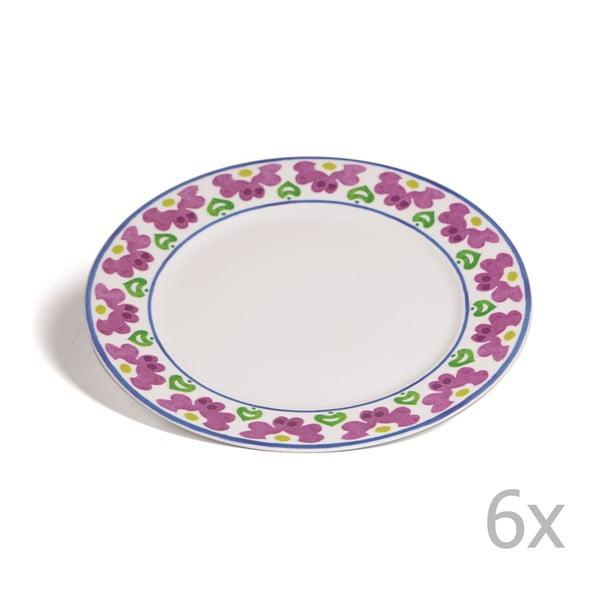 Sada 6 talířů Toscana Pienza, 27 cm
