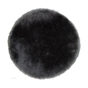 Kruhový šedý koberec Flair Rugs Pearl, 150cm