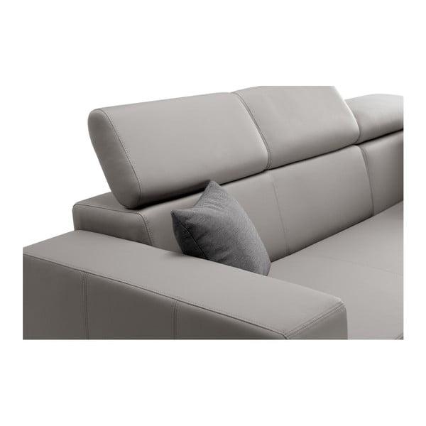 Šedohnědá rozkládací sedačka Interieur De Famille Paris Tresor, pravý roh