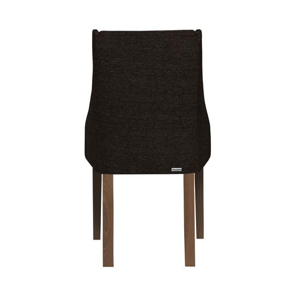Scaun din lemn de fag cu picioare maro închis Ted Lapidus Maison Absolu, maro