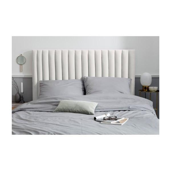 Světle šedé čelo postele Cosmopolitan design NJ, 200x120cm