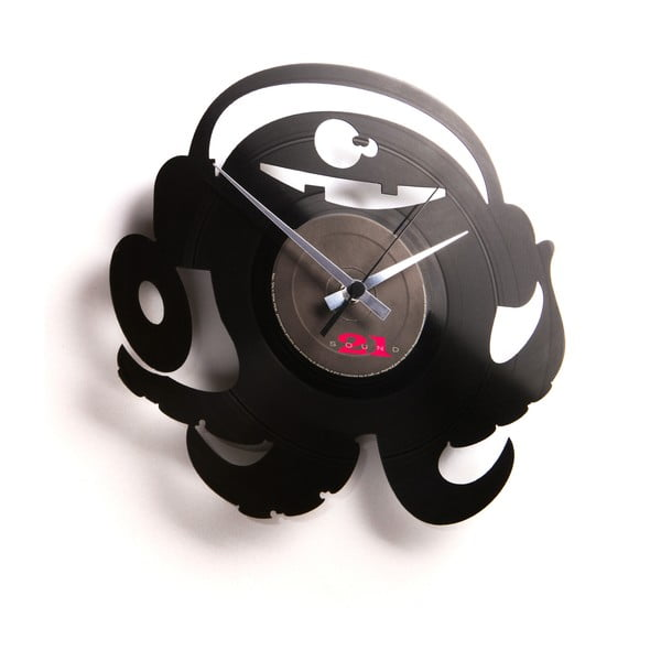 Vinylové hodiny DJ Pauly Po