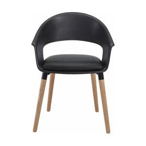 Černá židle Støraa Alto