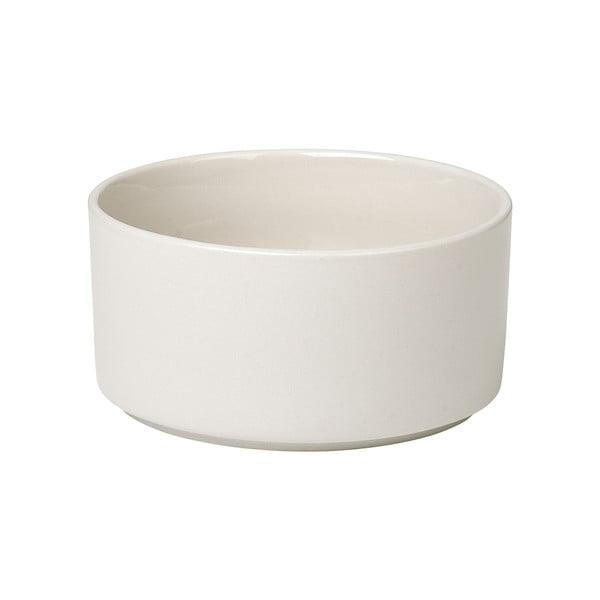 Bílá keramická miska na polévku Blomus Pilar