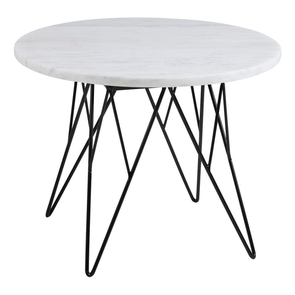 Bílý konferenční stolek Actona Prunus Duro