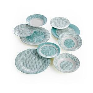 18dílný porcelánový servis Brandani Aqua