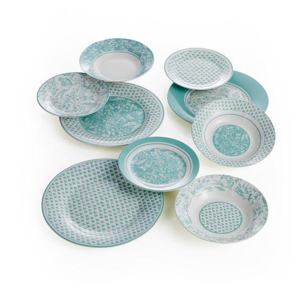 Aqua 18 db-os porcelán étkészlet - Brandani
