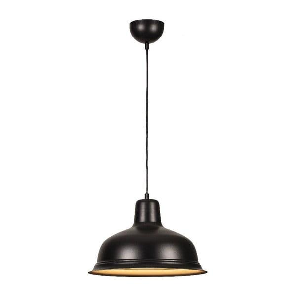 Černé závěsné svítidlo Bell