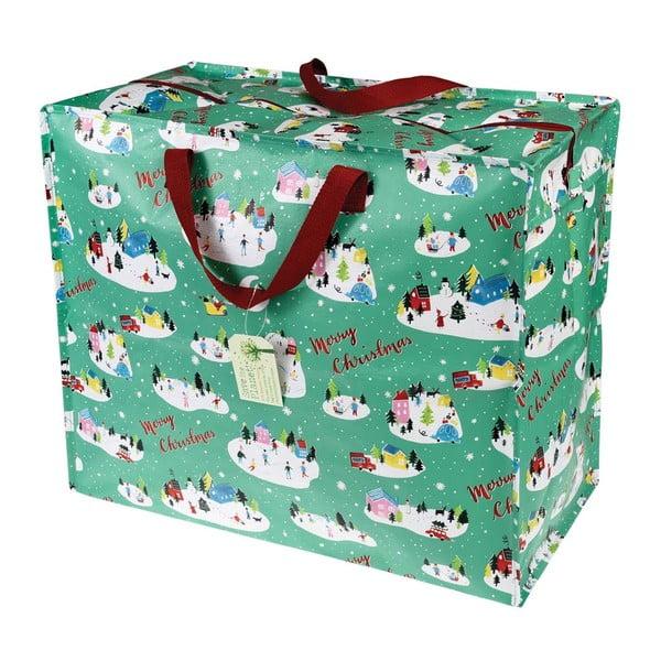 Duża torba na zakupy Rex London Christmas Wonderland