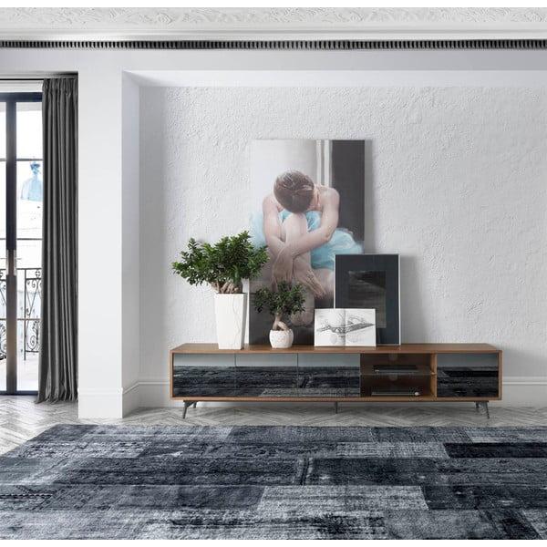 TV stolek Ángel Cerdá Walnut Shiny
