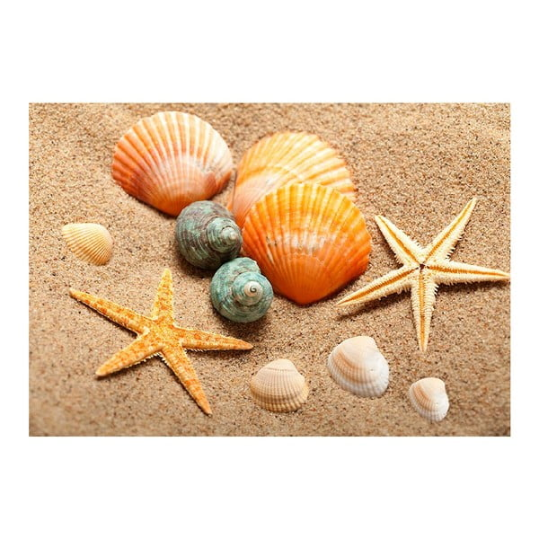 Beach vinil szőnyeg, 52 x 75 cm