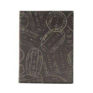 Černá kožená pánská peněženka Alviero Martini Rozuna