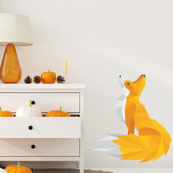 Autocolant Ambiance Origami Foxie