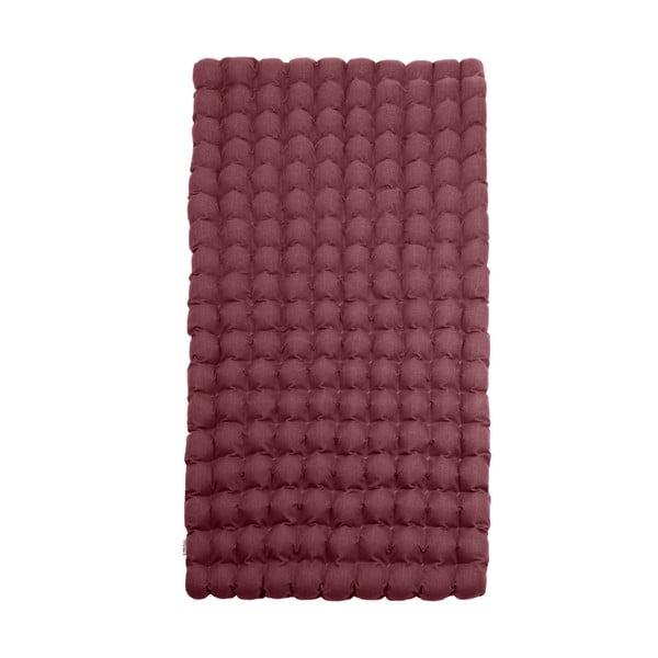 Czerwony-fioletowy relaksacyjny materac Linda Vrňáková Bubbles, 110x200 cm