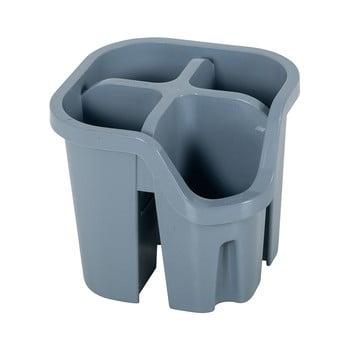 Scurgător pentru tacâmuri din plastic reciclat Addis Eco Range, gri poza