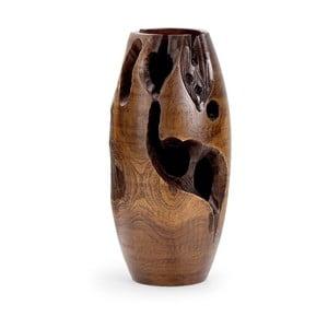 Dřevěná váza Erosi, 40 cm