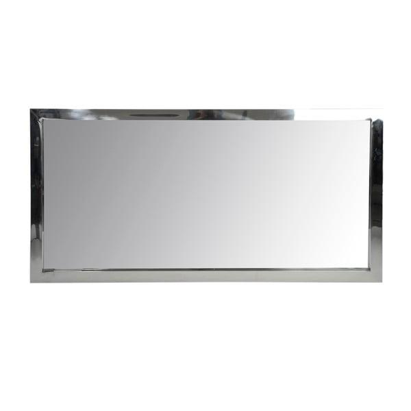 Zrcadlo Steel Silver, 70x130 cm