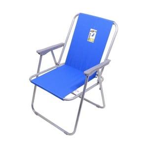 Modrá skládací kempingová židle Cattara Bern