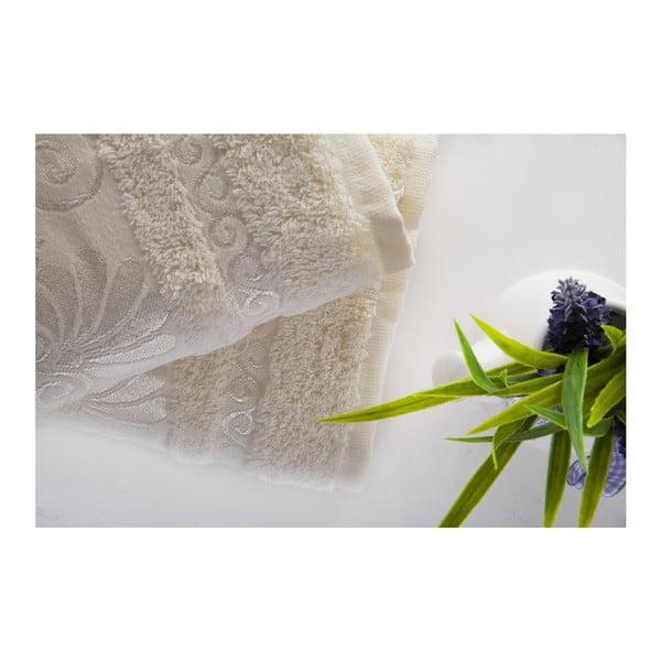 Sada 2ks ručníků Carmen Ecru, 50x90 cm
