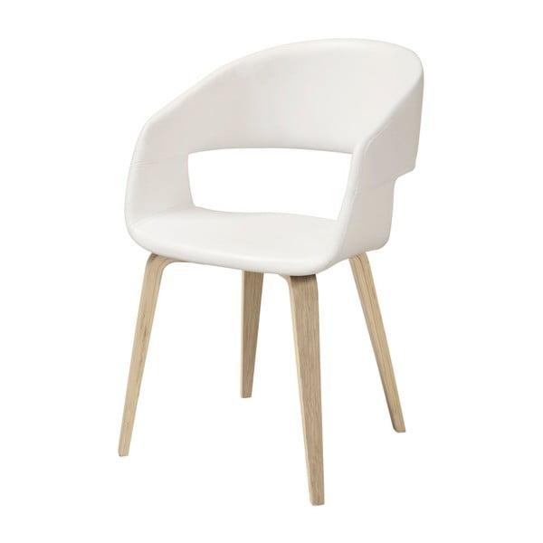 Bílá jídelní židle Interstil Nova Nature Poplar