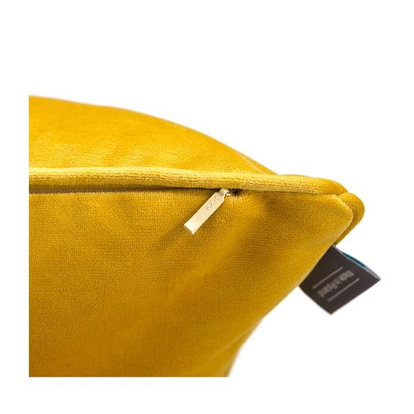 Față de pernă galbenă WeLoveBeds Dijon, 50 x 50 cm