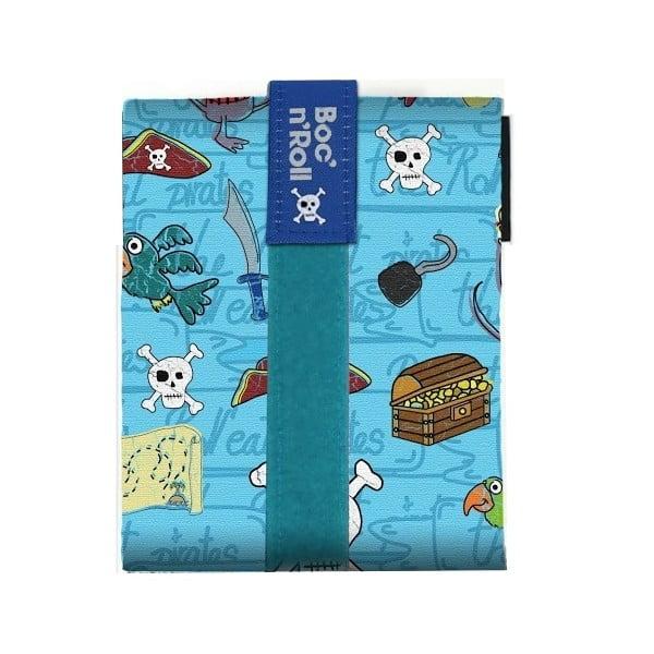 Svačinová kapsa Boc'n'Roll Pirates, modrá