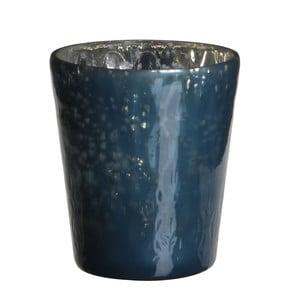 Stojan na svíčku Benito Dark  Blue, 7x7 cm
