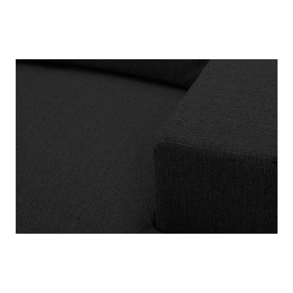 Černé křeslo Windsor & Co Sofas Daphne