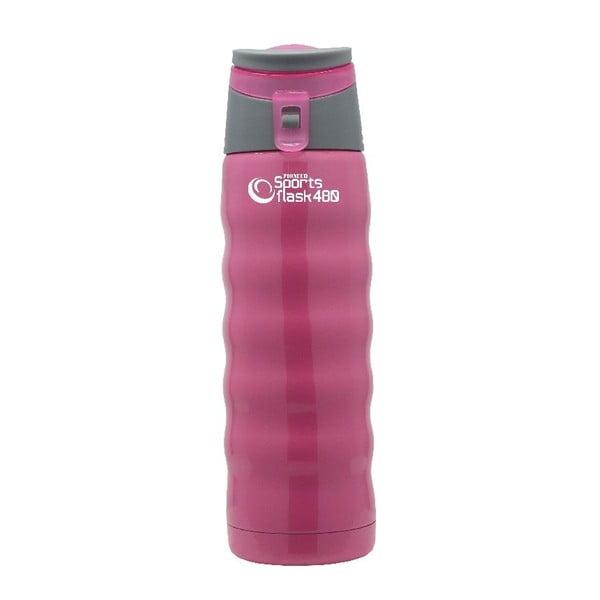Růžová sportovní lahev Pioneer, 480ml