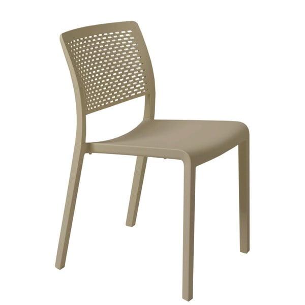 Sada 2 pískově hnědých zahradních židlí Resol Trama