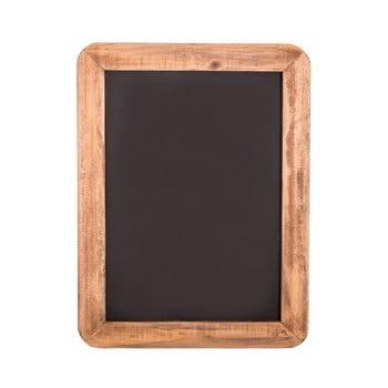 Plăcuţă decorativă cu cadru din lemn Antic Line, 28 x 20,5 cm, negru de la Antic Line