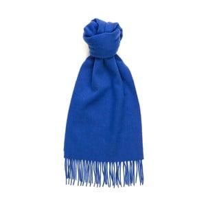 Modrá kašmírová šála Hogarth, 180x25cm