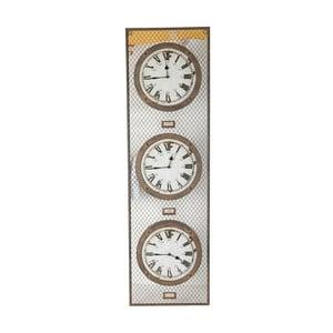 Trojité hodiny Antic Line Pendule