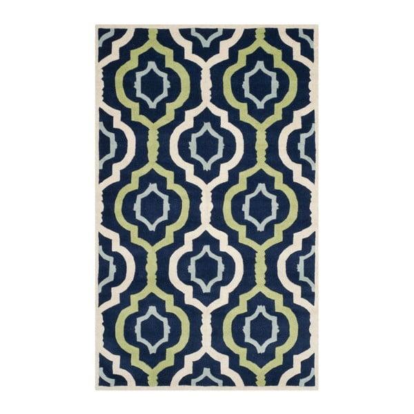 Ručně vyšívaný koberec Safavieh Mykonos, 243 x 152 cm