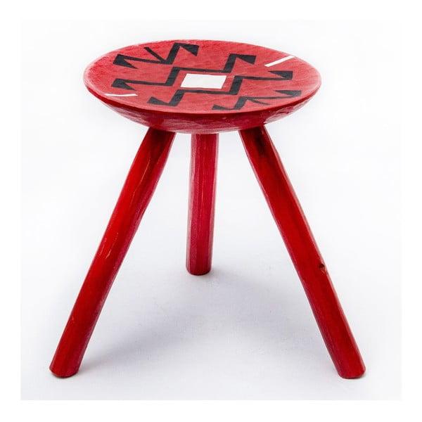 Ručně malovaná stolička Voila, 38 cm