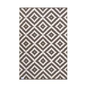 Šedo-béžový oboustranný koberec vhodný i do exteriéru Green Decore Ava Malo, 120 x 180 cm