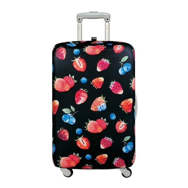 Husă valiză LOQI Strawberries