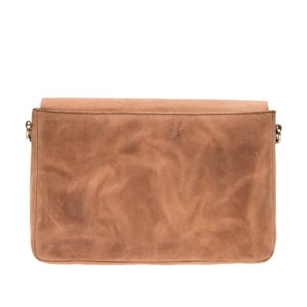 Kožená kabelka Ally, velbloudí