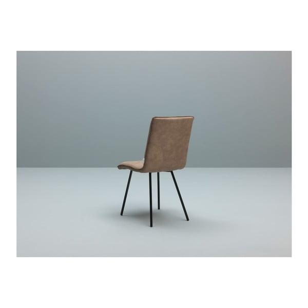 Sada 2 světle hnědých židlí Design Twist Moen