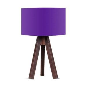 Stolní lampa s fialovým stínítkem Kate Louise Kahve
