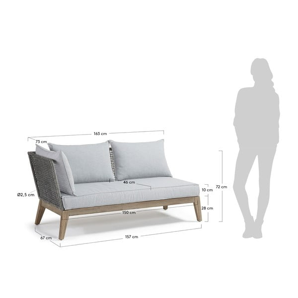 Canapea cu 2 locuri La Forma Relax